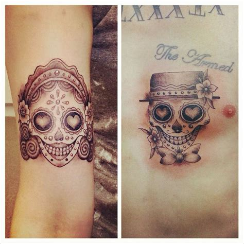 sugar skull couple tattoo best 25 florida tattoos ideas on no tattoos