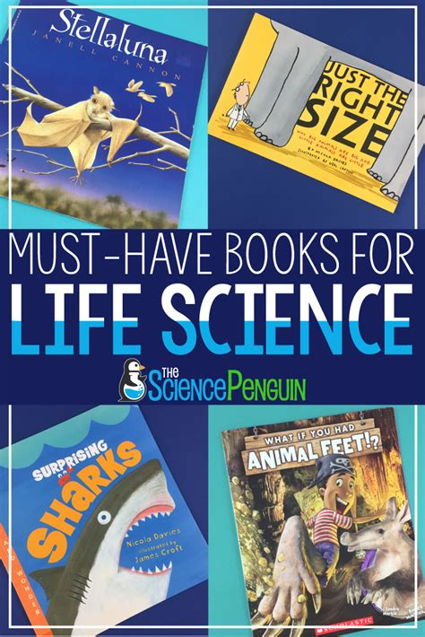 elementary picture books must science books for your elementary classroom