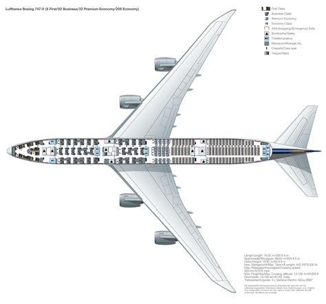 Airbus A380 Floor Plan by Seat Map Boeing 747 8 Lufthansa Magazin