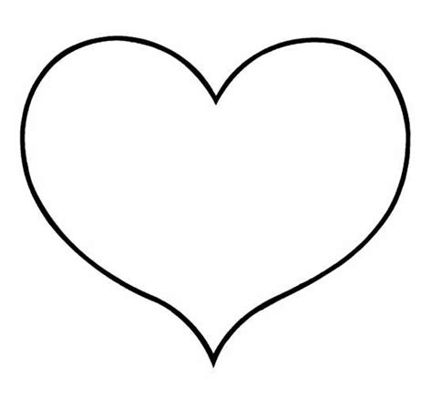 heart coloring clipart
