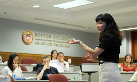 Mba Dual Degree Boston by Graduate Programs Carroll School Of Management Boston
