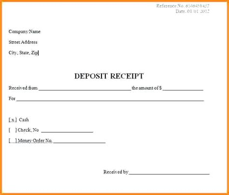deposit receipt template boat sale receipt for deposit template yagoa me