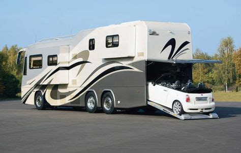 8 Awesome Car Carrying Motorhomes You Must See!   RVshare.com