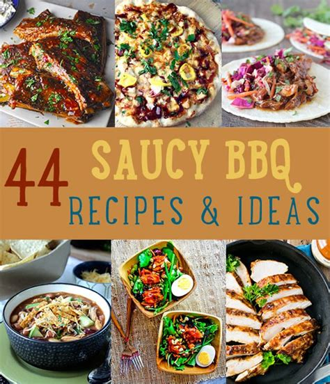 Backyard Bbq Menu Ideas by 44 Saucy Bbq Recipes Diy Ready