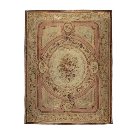 antique aubusson rug for sale at 1stdibs