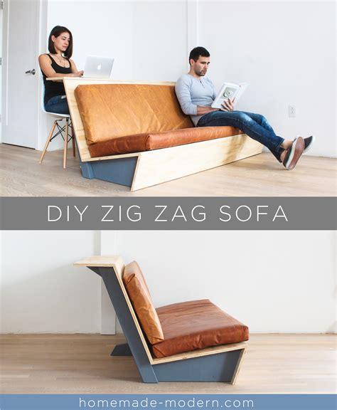 futon kaufen modern ep108 zig zag sofa