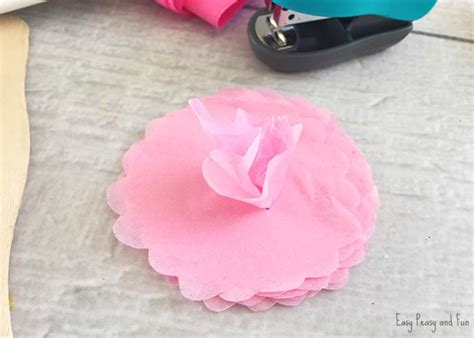 Thick Tissue Paper For Crafts - tissue paper flower craft easy peasy and