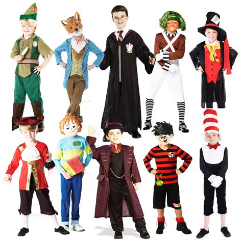 book characters boys story book week characters fancy dress world book day