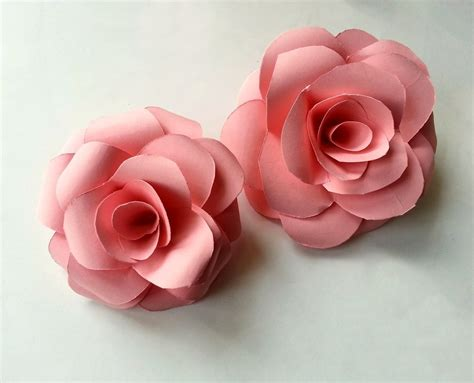 How Make Paper Roses - diy paper 183 how to make a flowers rosettes