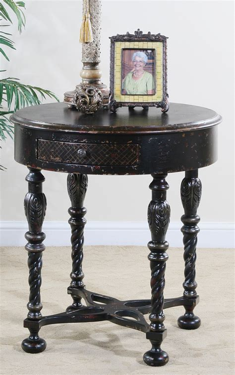 30 round accent table ultimate accents astoria 30 quot round end table 23414lt