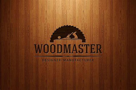wood master logo  behance