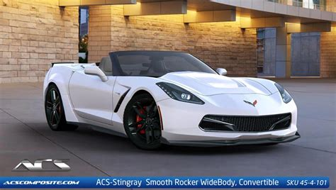 widebody corvette c7 acs composite offers new bolt on widebody kits the c7