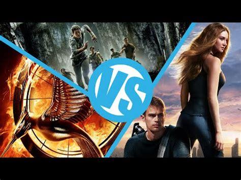 films like maze runner hunger games the maze runner vs divergent vs hunger games catching