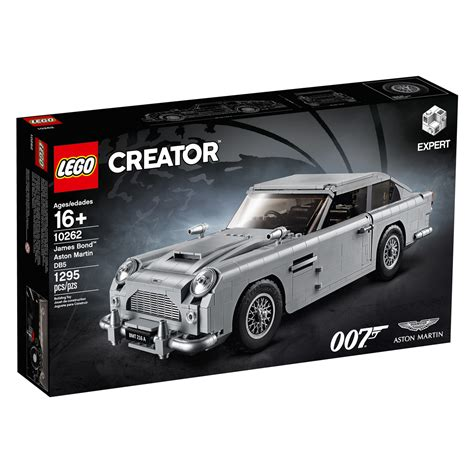 The Official Lego Bond Aston Martin Db5 Looks Fantastic