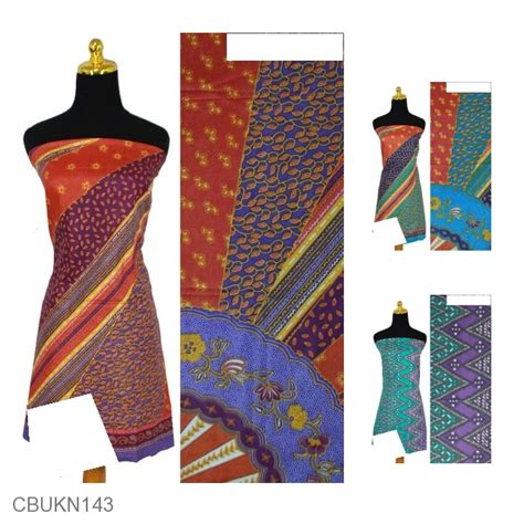 Baju Koko Zig Zag Terlaris kain batik printing katun motif kipas zig zag beras wutah