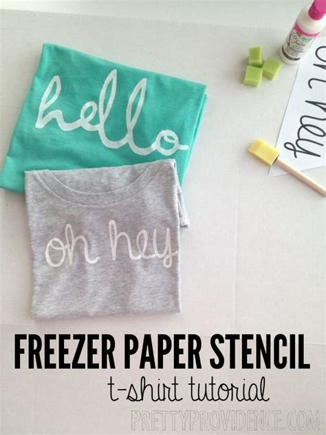 25 best ideas about freezer paper crafts on