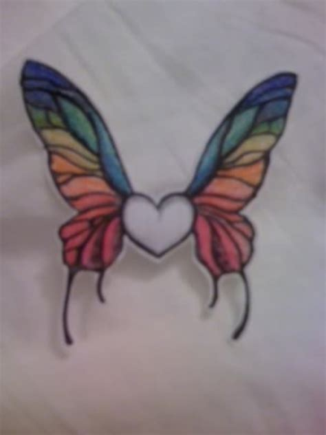 rainbow butterfly tattoo pictures at checkoutmyink com