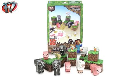 Minecraft Papercraft Animal Mobs Set - minecraft overworld animal mobs pack papercraft