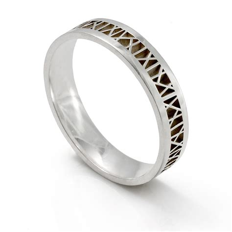 wedding rings mens ring designs silver custom mens