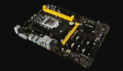 Biostar Tb250 Btc Pro Socket 1151 12 Socket biostar tb250 btc pro ver 6 x lga1151 socket support 12 x pci e mining board 11street malaysia