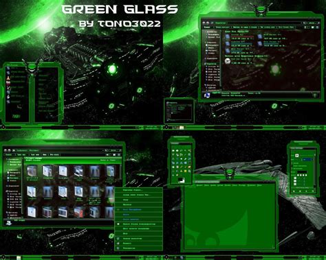 glass themes for windows 8 1 free download windows 7 theme green glass by tono3022 on deviantart