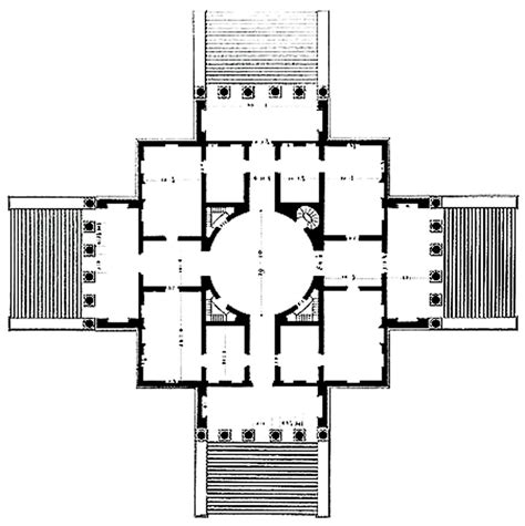 house plans with rotunda palladio villa rotunda 1778 the plan as a centralised mandala the mandala essence