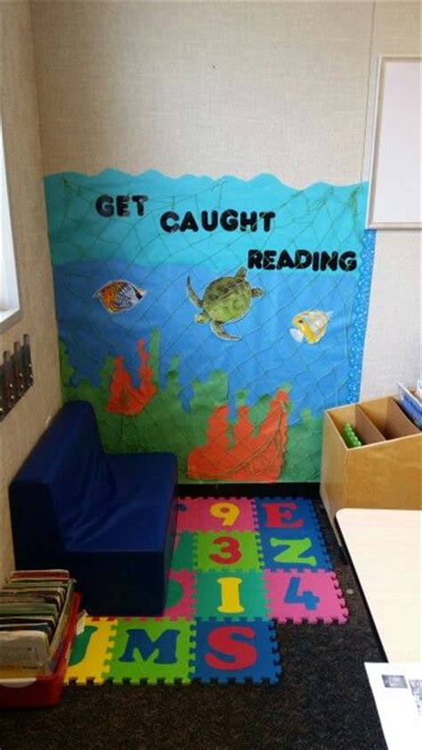 sea reading corner   sea theme