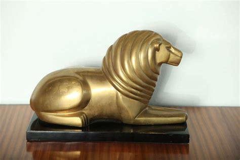 gary rubinstein antiques a bronze art deco lion at 1stdibs
