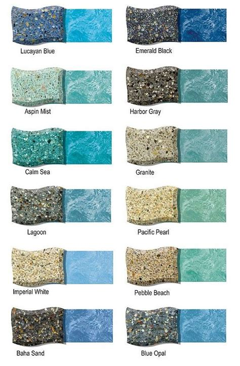 pool colors 233 best swimming pool finishes images on