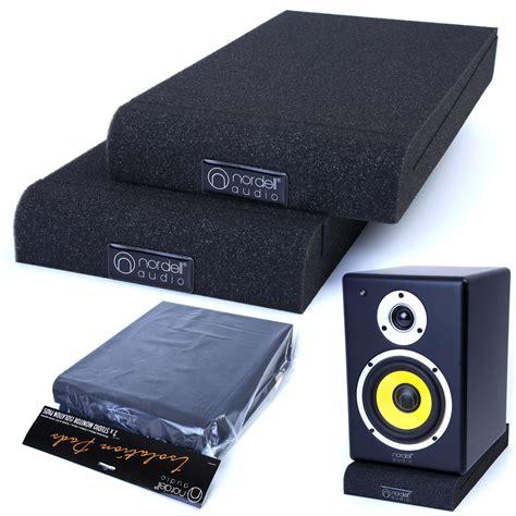 Alctron Epp07 Speaker Isolation Pad pair of studio monitor speaker acoustic isolation foam pads isolator 2 x sizes