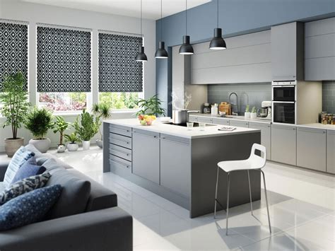 designer kitchen blinds kitchen creative kitchen roman blinds contemporary