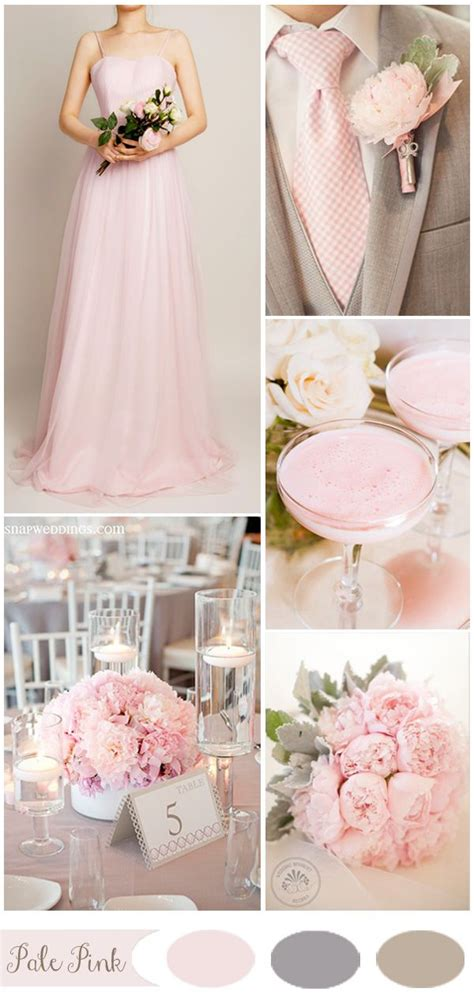 five gorgeous pink wedding color ideas and bridesmaid dresses member board bridal