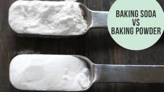 baking soda vs baking powder the difference youtube