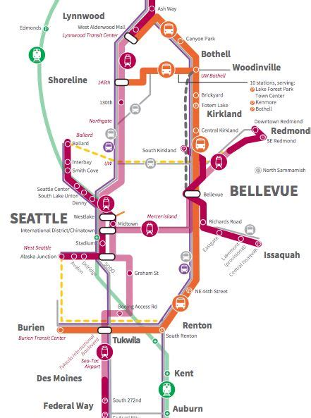 seattle light rail schedule revised light rail plan for seattle quicker timelines