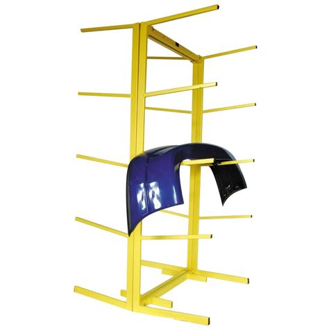 Fast Mover Tools Floor Standing Bumper Rack Double Sided