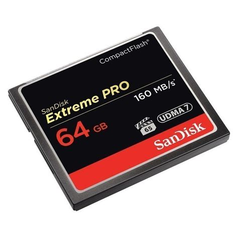 Memory Card Foto sandisk memory card cf 64gb extremepro 160mb s memory cards photopoint