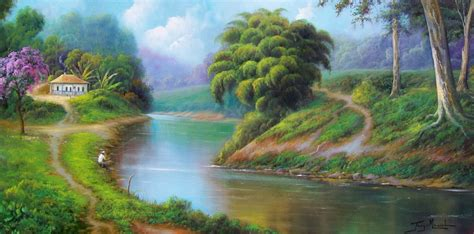 imagenes de paisajes impresionistas cuadros pinturas oleos pinturas impresionistas