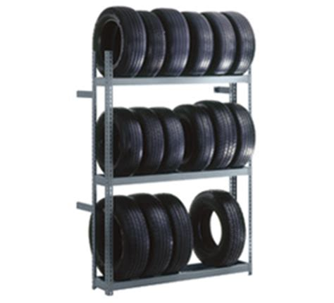 Tire Rack Indiana Warehouse by Edsal Products