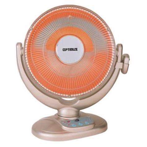 oscillating heater fan home depot optimus 14 in oscillating pedestal digital dish heater