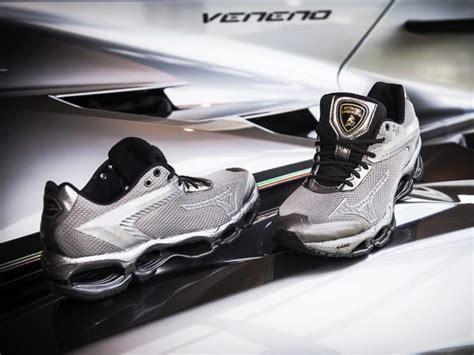 Lamborghini x Mizuno Shoes: Horsepower Meets Footpower