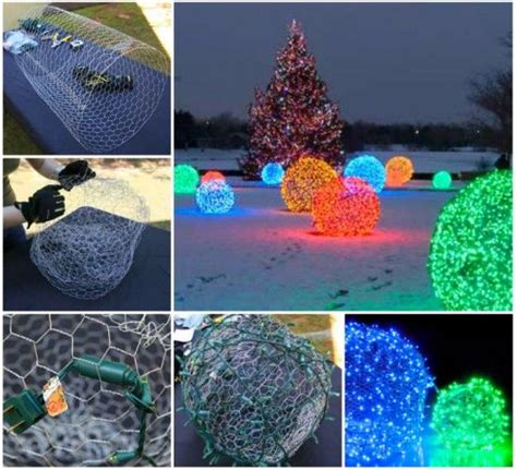 diy christmas light balls pictures photos and images for