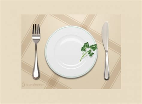 simple place setting simple dinner place setting psd welovesolo