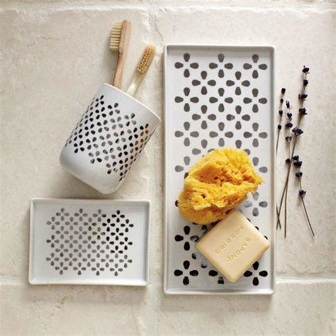 west elm bathroom accessories clover bath accessories west elm
