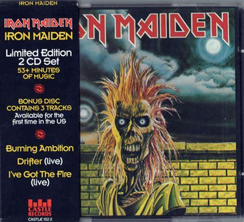 Kaos Musik Imn 07 Iron Maiden Ironmaiden iron maiden iron maiden cd album at discogs