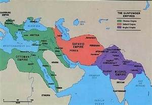 What Happened When The Ottoman Empire Weakened This Map Shows The Ottoman Empire Safavid Empire And Mughal Empire 1500 1700 Ad This Was Map