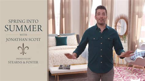 jonathan scott mattress stearns foster teams up with home design expert jonathan scott for second year