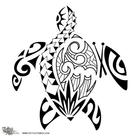 polynesian tribal turtle tattoos ideas on tattoos and maori