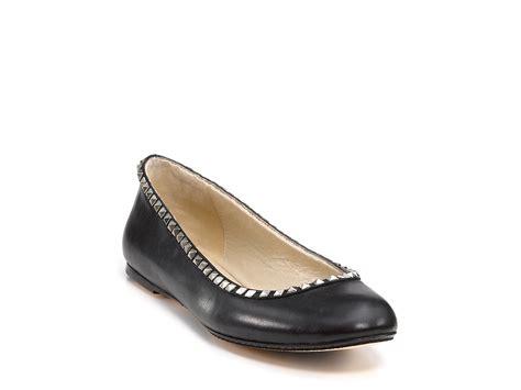 michael kors shoes flats michael kors kors orville ballet flats in black lyst