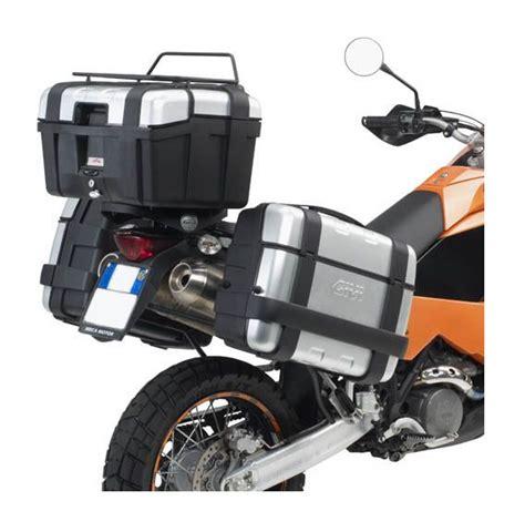 ktm 990 adventure pannier rack givi sr7700 top case rack ktm adventure 950 990 2003 2012 revzilla