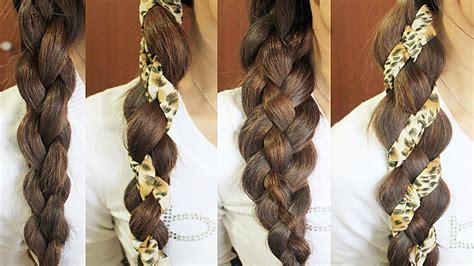 diy hairstyles bebexo 4 strand braid hair tutorial woven braid 3d round braid